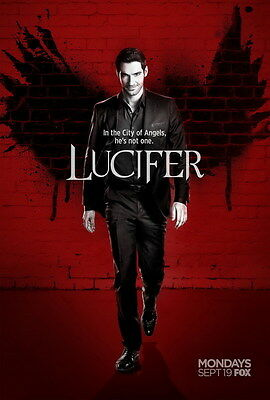"6784 Hot Movie TV Shows - Lucifer 24""x35"" Poster"