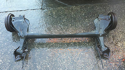 2006-2014 Vauxhall Corsa D Complete Rear Beam Back Axle - Abs & Drums