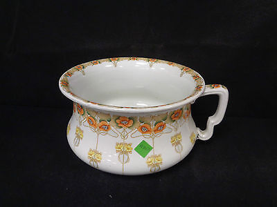 Vintage China Decorative Chamber Pot - Keeling & Co Ealing Late Mayers (Fe)