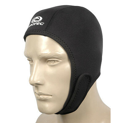 Scuba Diving/Cold Water Swimming 2.5mm Neoprene Hood With Velcro Fastening