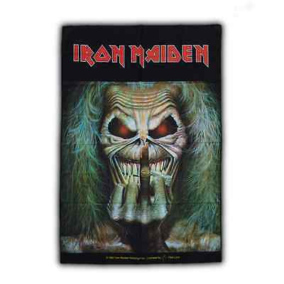 IRON MAIDEN Posterfahne 'Eddie - Candle Finger' Posterflag ♫ Heavy Metal ♫
