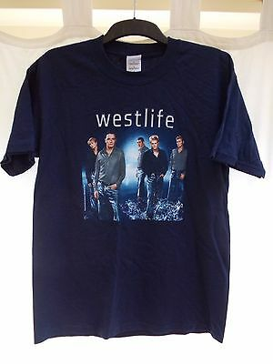 Rare Westlife promo T-shirt World of our own Tour 2002. size m