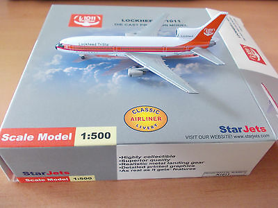 StarJets 1:500 Lockheed L-1011 Tristar - Company Colors / House Colors