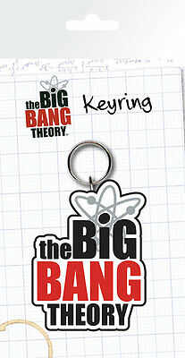 THE BIG BANG THEORY Logo Key Ring NEW CARDED BAGGED Official Merchandise
