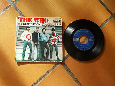 Ep 45 Tours  The  Who Decca 60.002 M