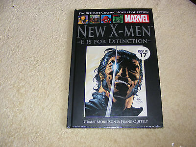 the ultimate graphic novels collection marvel new x men e is for extinction