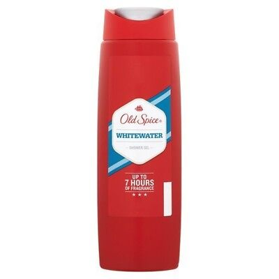 3 x 250ml Old Spice Shower Gel Whitewater