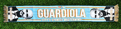 Pep Guardiola Manchester City Football Scarf