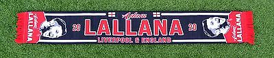 Adam Lallana Liverpool Football Scarf Black