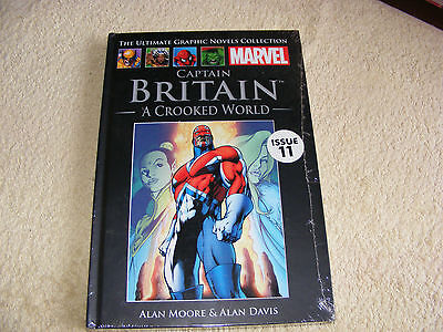 the ultimate graphic novels collection marvel captain britain
