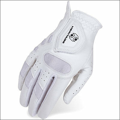 06 Size Heritage Tackified Pro Air Horse Riding Equestrian Glove Nylon Leather