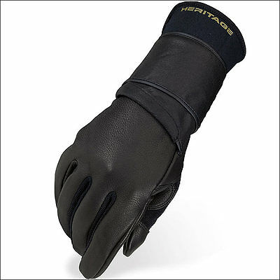 05 Size Heritage Pro 8.0 Bull Riding Gloves Horse Equestrian (Right Hand)
