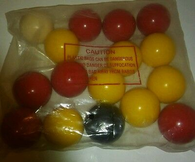pool balls new. snooker 9 ball