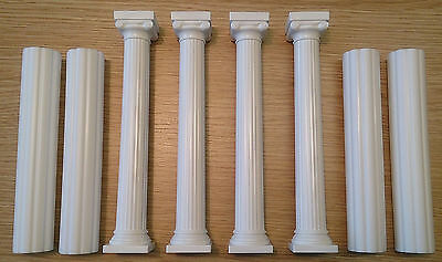 Cake Pillars - Grecian Style; Hollow Cake Strengtheners / Dowels
