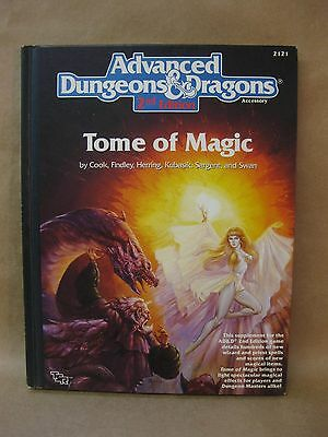Advanced Dungeons & Dragons ~ TOME OF MAGIC ~ TSR Vintage Book