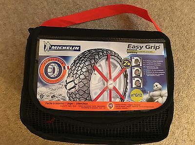 Michelin Easy Grip Composite Snow Chains G12 Brand New