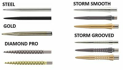 1 x SET TARGET DART POINTS - STEEL, GOLD, DIAMOND PRO, STORM POINTS