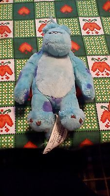 "Disney Pixar Monsters University 8"" ""Sully"" Soft / Plush Toy by Spin Master VGC"