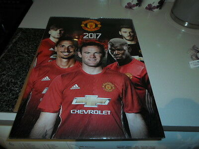 Manchester United FC Official 2017 Calendar Brand New Unopened 9781785492211