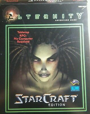 Blizzard Wizards of the Coast ALTERNITY STARCRAFT EDITION rpg 2000 NEW