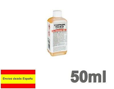 Flux Liquido 50ml soldadura Colofonia base de alcohol cuerpos sólidos TK83 Q0021