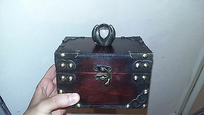 Original H Potter Alley Wizard Box Prop With Crystal Ball