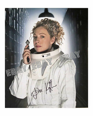 25 Doctor Dr Who River Song Alex Kingston Signed Photo Print