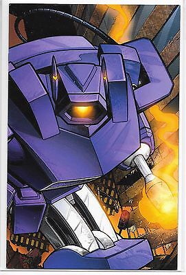 Transformers 0 Gold Shockwave 1:100 INCENTIVE VARIANT IDW 2005 RARE