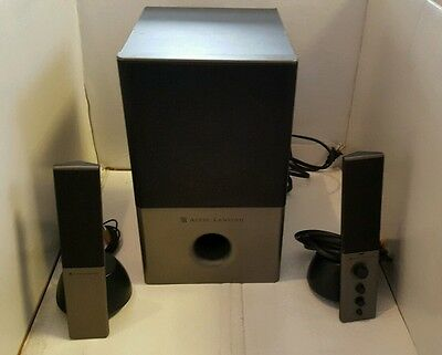 Altec Lansing VS4121 Home Audio PC Computer AUX Powered Speaker Subwoofer System