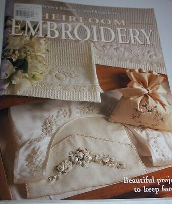 Heirloom Embroidery book - Better homes and gardens Murdoch books