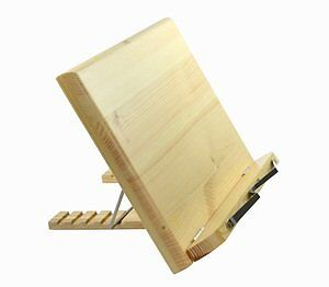 KLOUD City ® Wood bookstand laptop iPad book stand holder...NEW