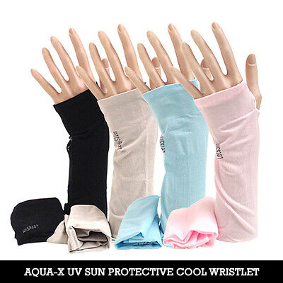 1P UV Protection Cooling Arm sleeves, Super Stretched