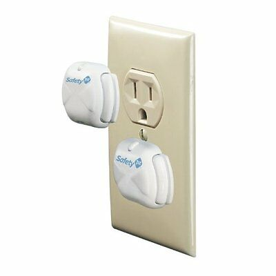 Safety 1st Deluxe Press Fit Outlet Plugs, 24-Count...NEW