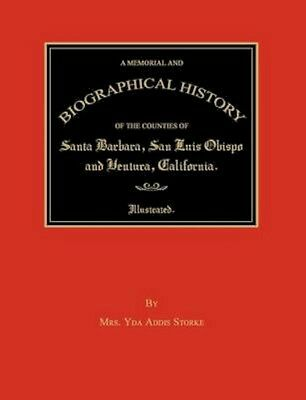 NEW A Memorial And Biographical History Of The... BOOK (Paperback / softback)