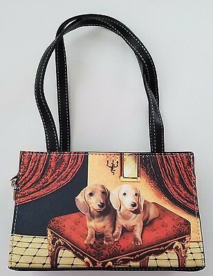 Dachshund Doxie Dog Purse Handbag