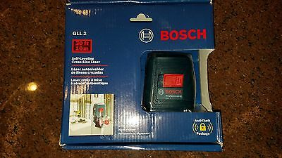 BOSCH GLL 2 Self-Leveling Cross-Line Laser Level 0601063A10 GLL2 NEW
