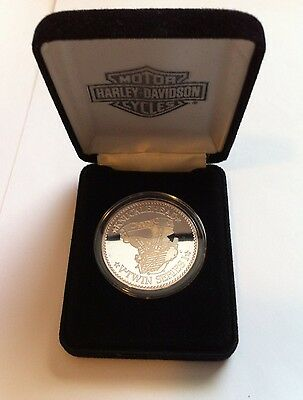 Harley-Davidson *Knucklehead* - *V-Twin Series* - Silver Coin - No Sleeve