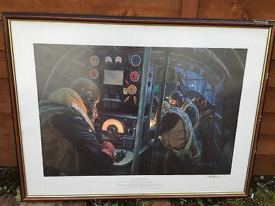 Gil Cohen We Guide To Strike Pathfinders Lancaster Bomber Command WW2 print