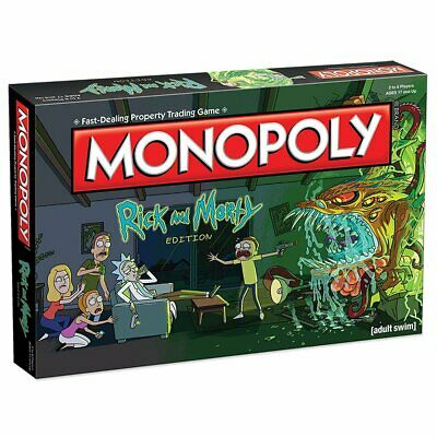 Rick & Morty Monopoly Board Game