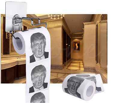 Donald Trump Humour Toilet Paper Roll Novelty Funny Gift Dump with Trump Funny