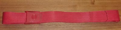 Diving Scuba Weight Belt 50mm Webbing Quick Release Nylon Buckle Red Mauve