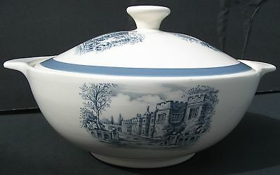 """Alfred Meakin England """"stately Homes - Haddon Hall"""" Serving Bowl/lid Stafford"""