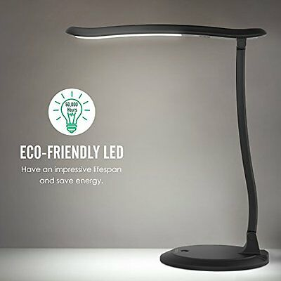 Dimmable LED Desk Lamp, Eye care Reading / Studying Table Lamp, Touch-Sensitive