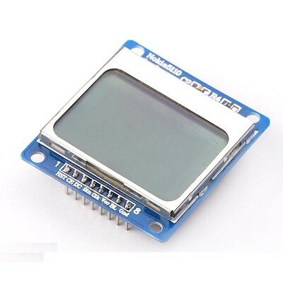 1PCS 84*48 LCD Module blue backlight adapter pcb for Nokia 5110