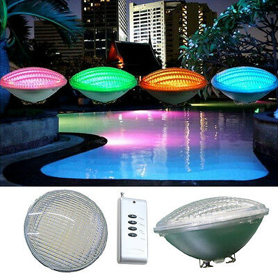 PAR56 Pool Light RGB IP68 LED Swimming Outdoor Underwater 54W + Remote Control