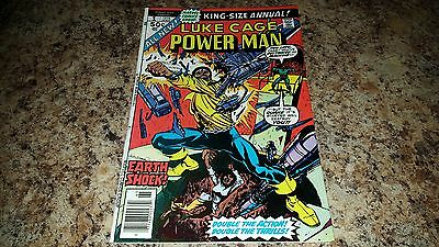 Power Man Luke Cage King Size Annual #1 ([November] 1976, Marvel) VF/VF+