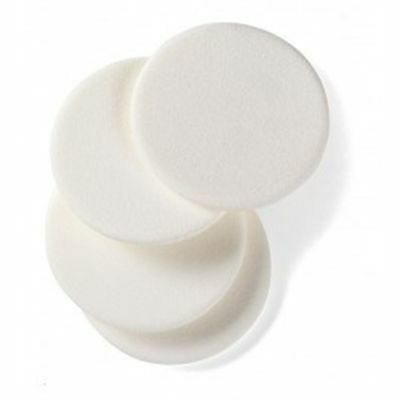 4 Manicare Compact Foam Puffs - Makeup Foundation Blending Sponge Applicator