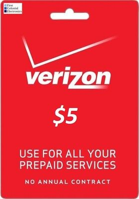 Verizon Data Add-On $5 Refill -- For Prepaid Phones, Mi-Fi Devices