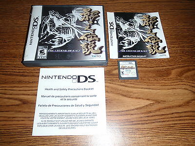 THE LEGEND OF KAGE 2 Nintendo DS DSi Game Complete