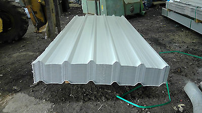 8ft box profile anti condensation roofing sheets grey polyester coated